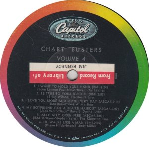 BEATLE LP LABEL 07