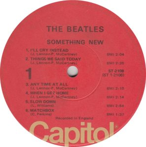 BEATLE LP LABEL 11 RE 76