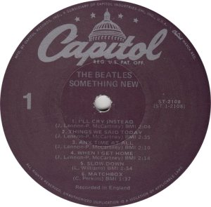 BEATLE LP LABEL 11 RE 78