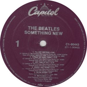 BEATLE LP LABEL 11 RE 88