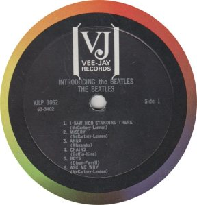 BEATLE LP LABEL 12