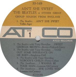 BEATLE LP LABEL 13