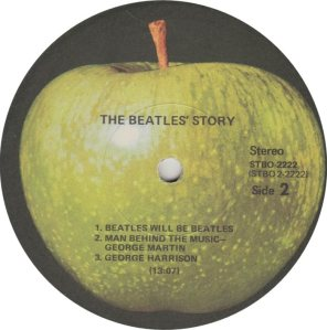 BEATLE LP LABEL 14 RE 71_0001