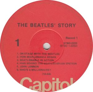 BEATLE LP LABEL 14 RE 76