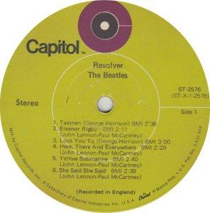 BEATLES LP LABEL 25 69