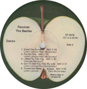 BEATLES LP LABEL 25 71_0001