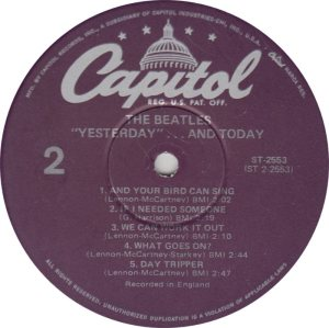 BEATLES LP LABEL 25 78_0001