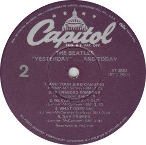 BEATLES LP LABEL 25 78_0001