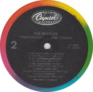 BEATLES LP LABEL 25 83_0001