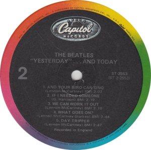 BEATLES LP LABEL 25 83_0001