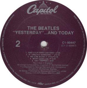 BEATLES LP LABEL 25 88_0001