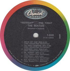 BEATLES LP LABEL 25_0002