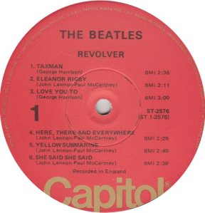 BEATLES LP LABEL 27 76