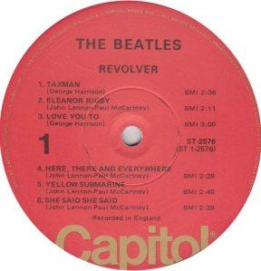 BEATLES LP LABEL 27 76