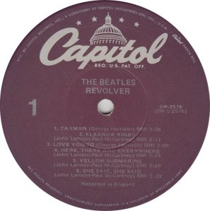 BEATLES LP LABEL 27 78