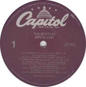 BEATLES LP LABEL 27 78