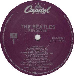 BEATLES LP LABEL 27 89