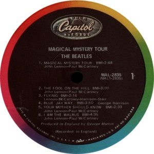 BEATLES US MAGIC MYSTERY TOUR D