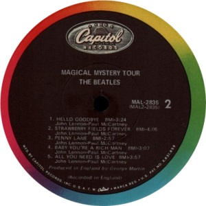 BEATLES US MAGIC MYSTERY TOUR E