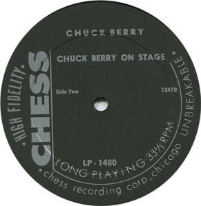 BERRY - CHESS 1480 0 1963 D