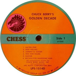 BERRY - CHESS 15343 - 1967 A