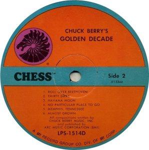 BERRY - CHESS 15343 - 1967 B