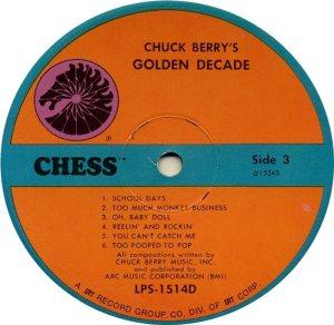 BERRY - CHESS 15343 - 1967 C