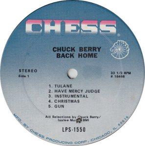 BERRY - CHESS 1550 - 1970 C