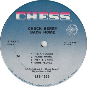 BERRY - CHESS 1550 - 1970 D