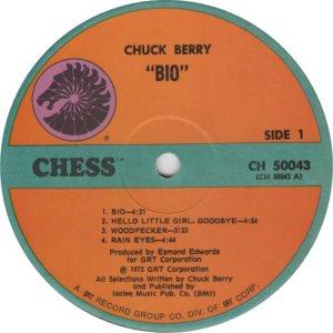 BERRY - CHESS 50043 - 1973 E