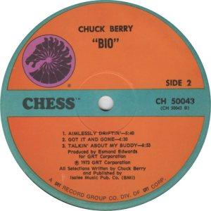 BERRY - CHESS 50043 - 1973 F