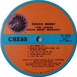 BERRY - CHESS 60020 1972 C