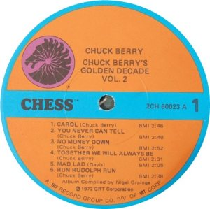BERRY - CHESS 60023 - 1973 A