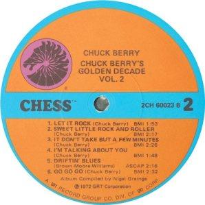 BERRY - CHESS 60023 - 1973 B