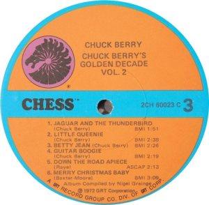 BERRY - CHESS 60023 - 1973 C