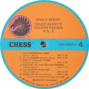 BERRY - CHESS 60023 - 1973 D