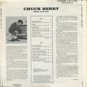 BERRY - CHESS LP 1453 - B