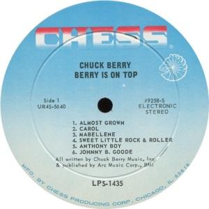 BERRY - CHESS LP 1453 - C
