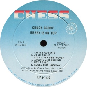 BERRY - CHESS LP 1453 - D
