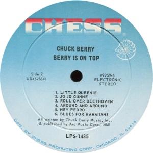 BERRY - CHESS LP 1453 - D