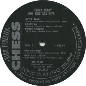 BERRY - CHESS LP 1458 D