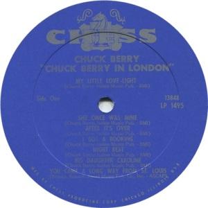 BERRY CHESS LP 1495 - C