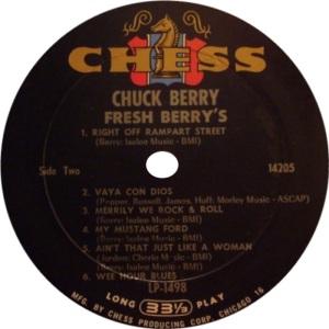BERRY CHESS LP 1498 AB