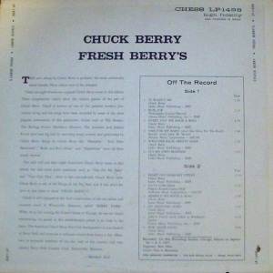 BERRY CHESS LP 1498 B