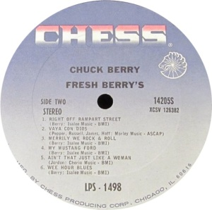 BERRY CHESS LP 1498 C