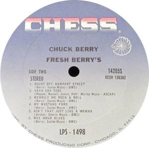 BERRY CHESS LP 1498 C