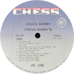 BERRY CHESS LP 1498 D