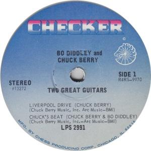 BERRY DIDDLEY CHECKER 2991 LP D