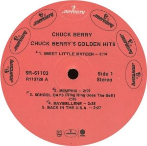BERRY - MERCURY 61103 - 1967 A