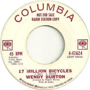 BURTON WENDY 62 A